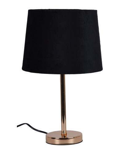 LAMPA Z WELUROWYM ABAŻUREM
