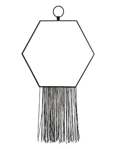 Lustro Dekoracyjne Czarne