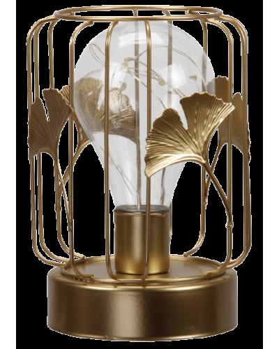 LAMPKA ZŁOTA LOFT