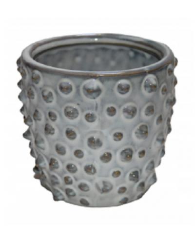 Doniczka osłonka ceramiczna BIAŁA 14cm