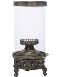 LAMPION METALOWY ZŁOTY